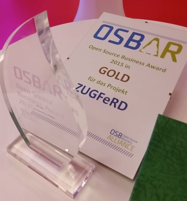Picture of the Open Source Business Award OSBAR